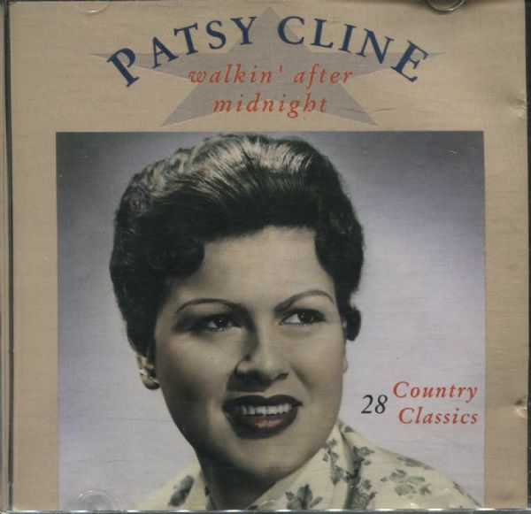 PATSY CLINE - WALKING AFTER MIDNIGHT (CD 1989) USED